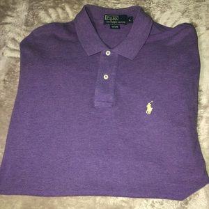 Purple Polo Ralph Lauren Short Sleeve